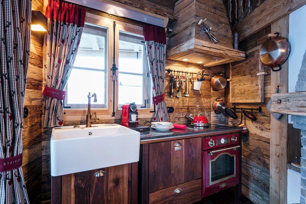 Кухня в стиле шале: как создать современный альпийский дизайн