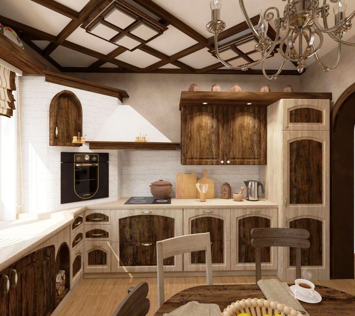 дизайн кухни в стиле шале фото училище, несмотря