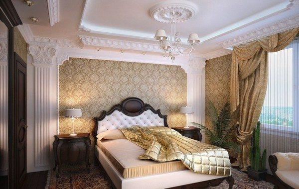 Лепнина на потолке – красивое оформление