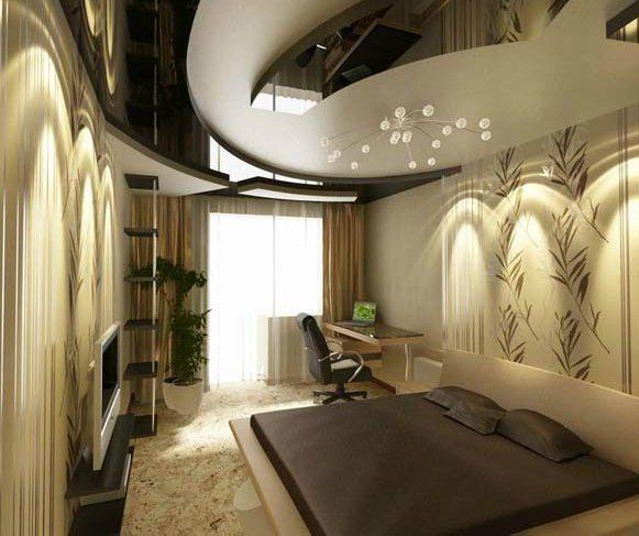 Любительское фото, на котором можно увидеть, что даже небольшое помещение можно прекрасно стилизовать, превратив в настоящее произведение искусства