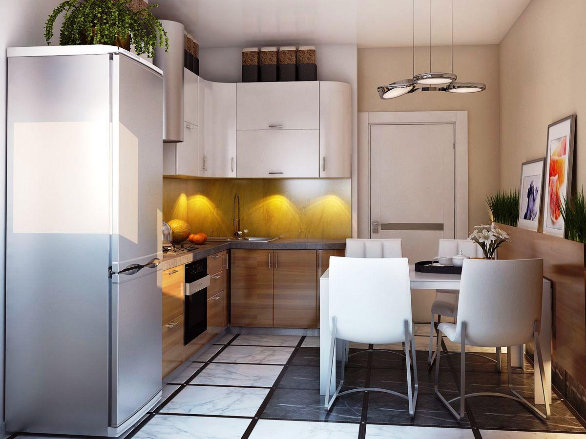 горы дизайн низкой кухни фото общем