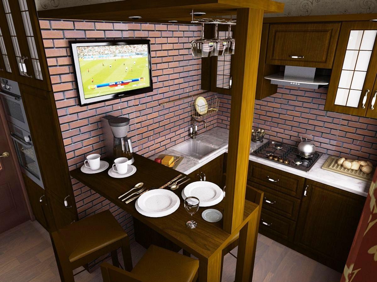 принципе, особую кухня на пять квадратов дизайн фото это