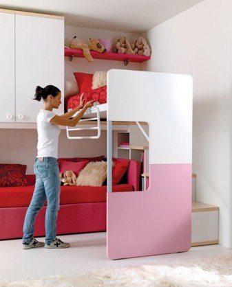Мебель вполне способна разделять помещение
