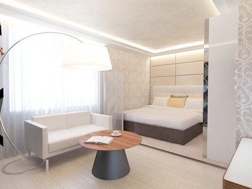 Мини-спальня – итог перепланировки