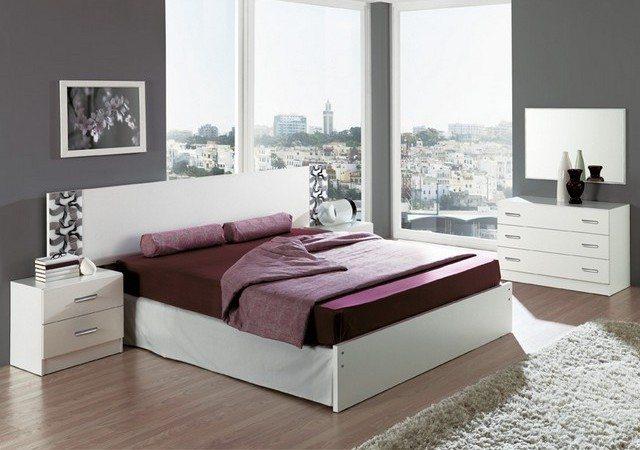 Минимальный комплект мебели в спальню