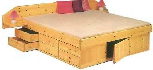 Многофункциональная кровать-шкаф