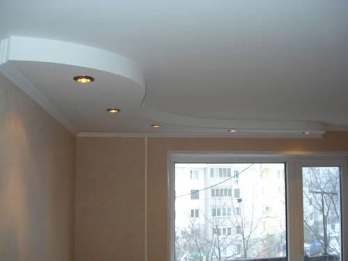 Потолок из гипсокартона своими руками дизайн
