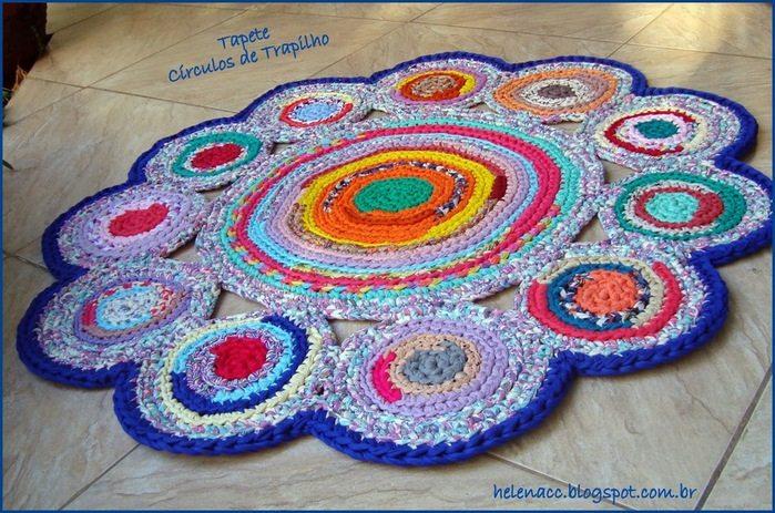 Модель необычной формы из нескольких кругов