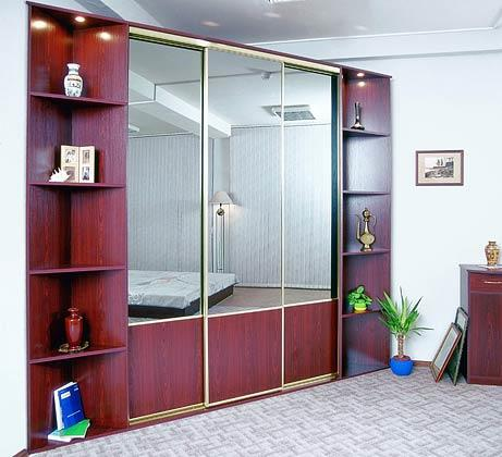 Модель шкафа из алюминиевого профиля