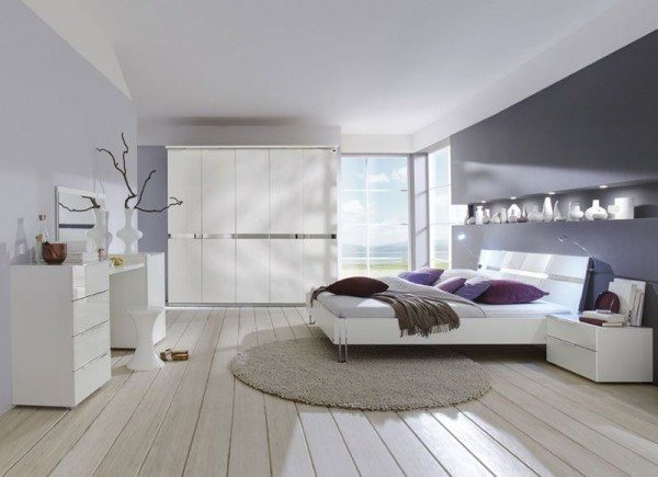 Модульная мебель для спальни комфортна и безопасна.