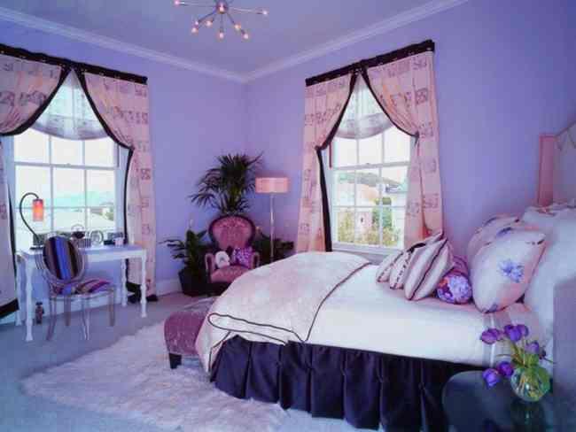Монохромный вариант оформления комнаты