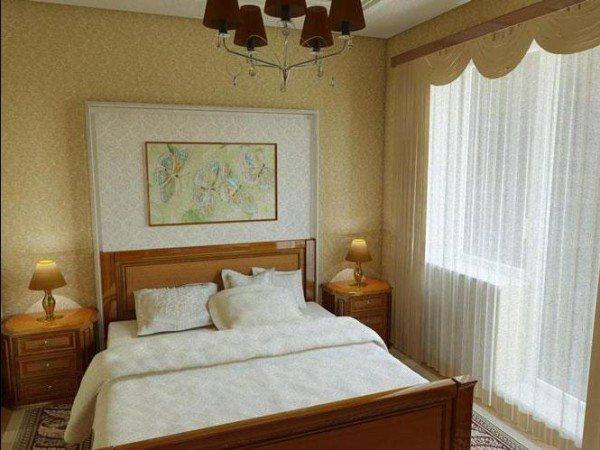 На фото - интерьер спальни 11 кв м с балконом для девочки-подростка