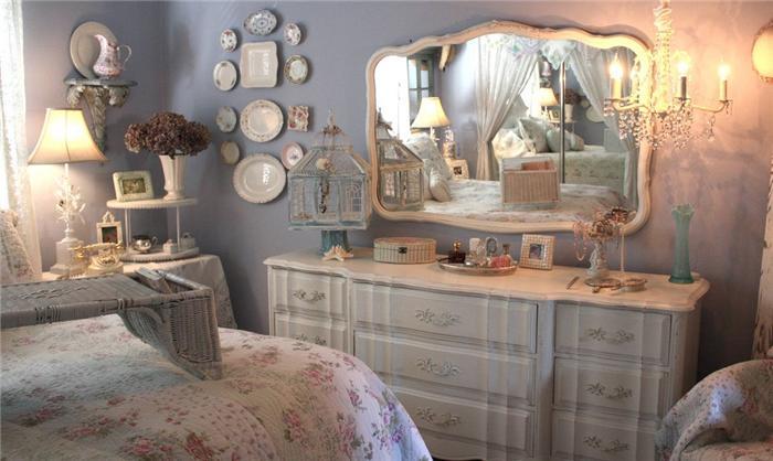Спальня в стиле шебби шик своими руками фото
