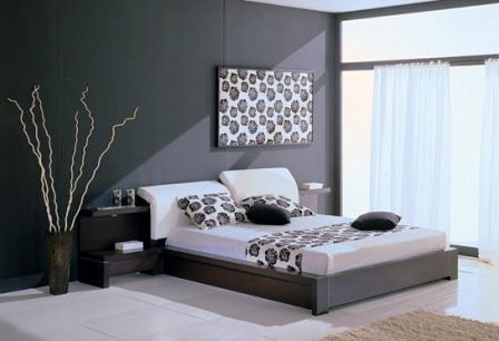 На фото изображена комната отдыха в образе хай-тек.