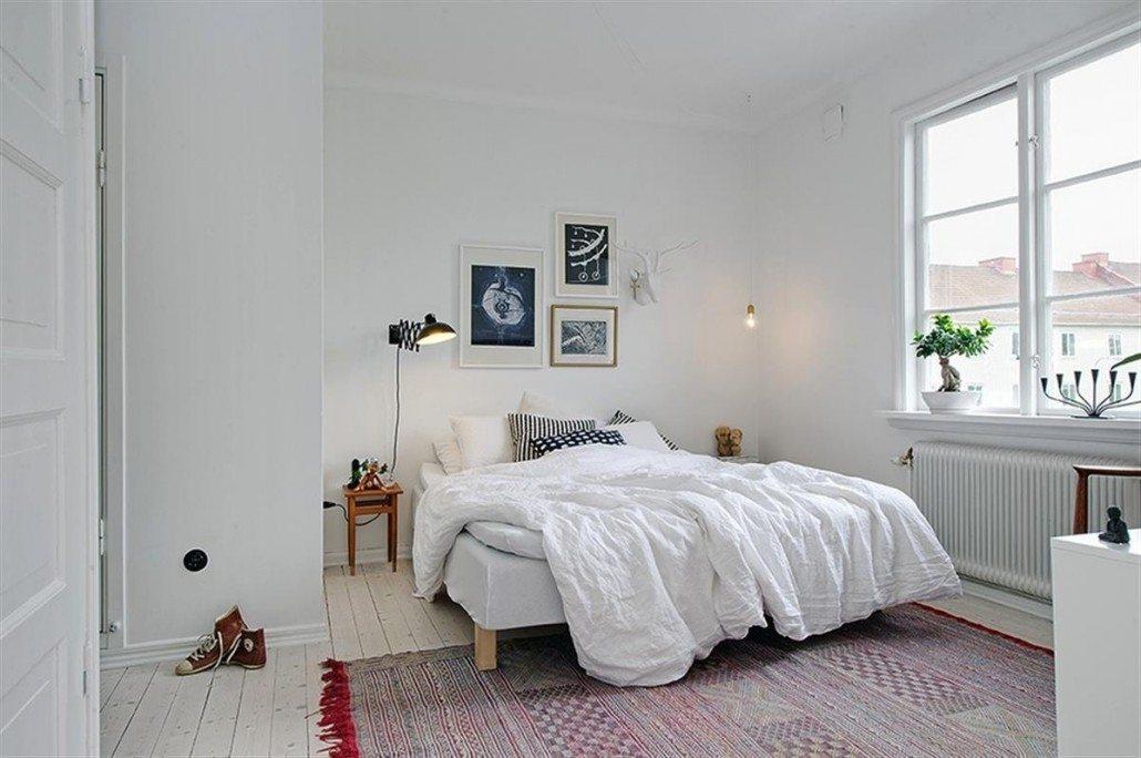 спальня в скандинавском стиле фото интерьер