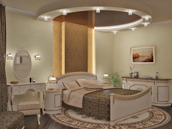 На фото показано, как в комнате удачно разместили осветительные приборы.