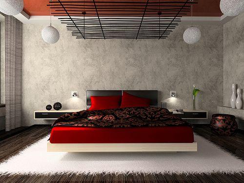 На фото изображена спальня в японском стиле: своими руками создаем восточные мотивы