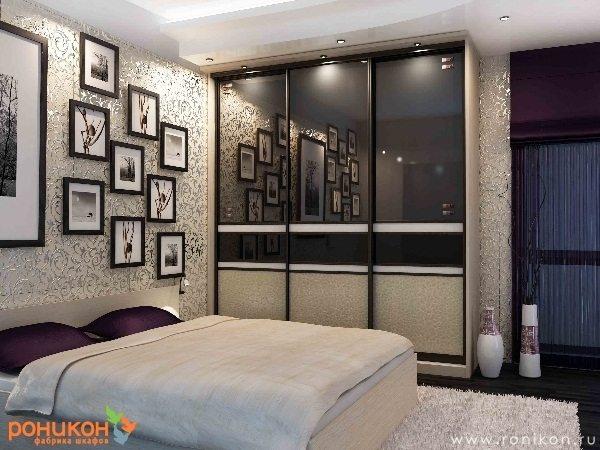 Небольшие декоративные элементы в виде ваз, картин или зеркал придадут комнате потрясающий внешний вид и сделают ее уютной