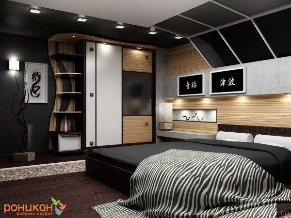 Некоторые спальни при использовании подобного типа мебели нуждаются в соответствующей отделке, свойственной первоначальному дизайну