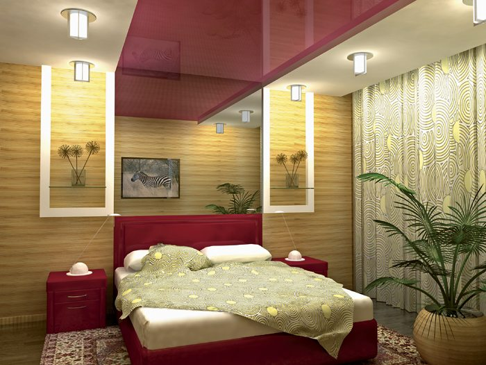 Необычнее решение оформления потолка: красиво – не так ли!