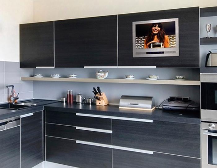 Встроенный в кухонный гарнитур телевизор: самостоятельное ...
