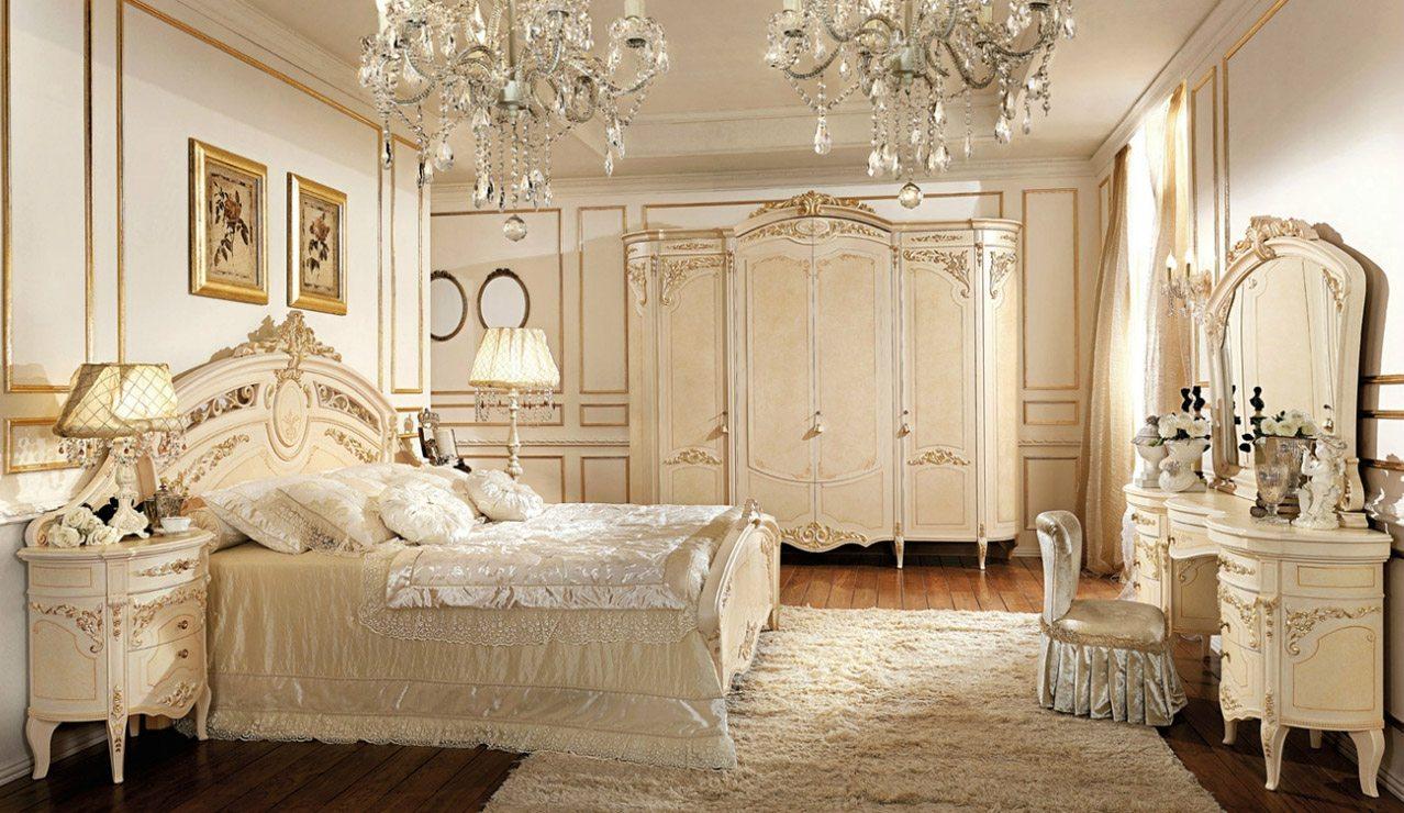 Шикарные спальные гарнитуры