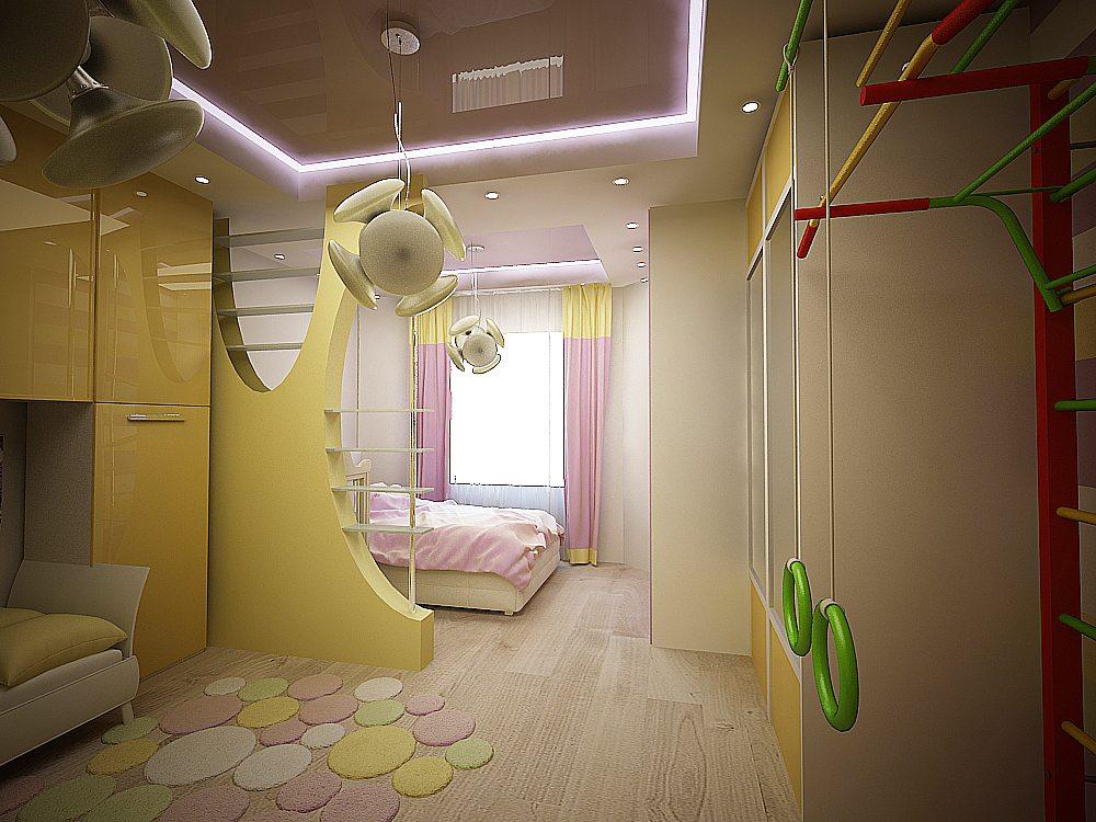 Как в комнате сделать взрослую и детскую