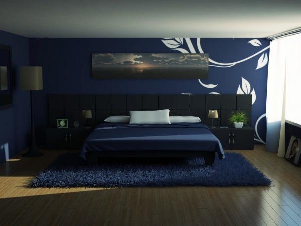 Обои – компаньоны в спальне, они могут привнести в неё больше света, если она слишком темна, о чём здесь было забыто (фото «L»)