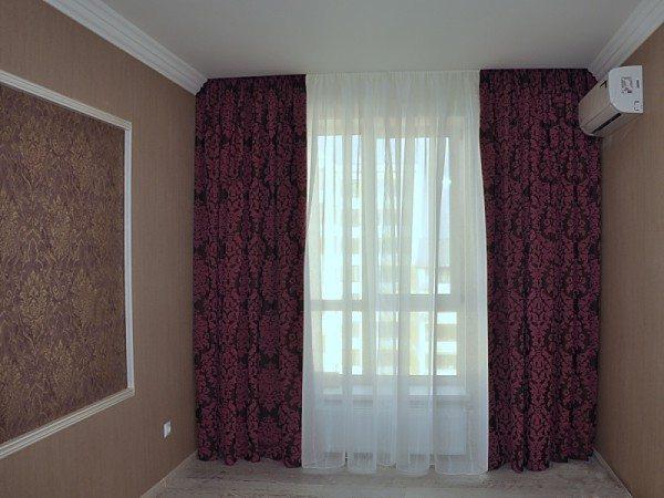 Обычные шторы без изысков