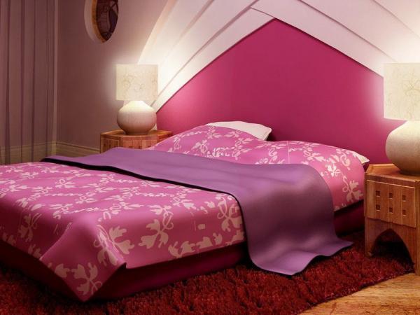 Один из вариантов, какого цвета должна быть спальня супругов.