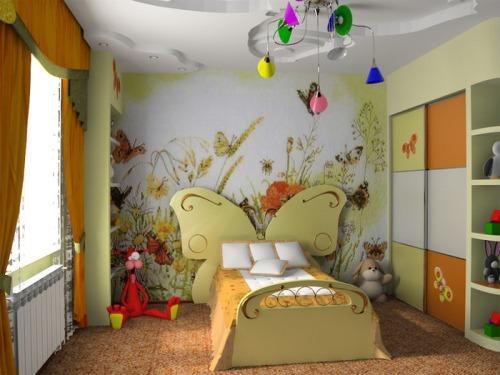 Оформление интерьера детской спальни требует определенного подхода с учетом личных предпочтений ребенка и его пола