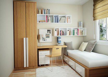 Оформление комнаты отдыха для одного человека