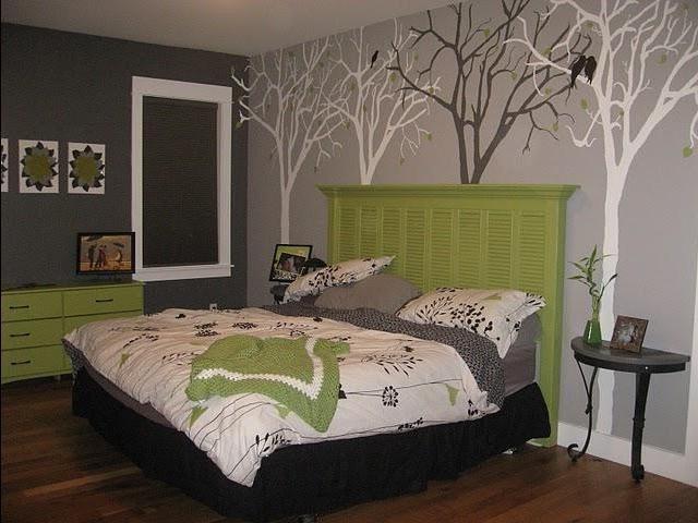 Как украсить свою спальню своими руками