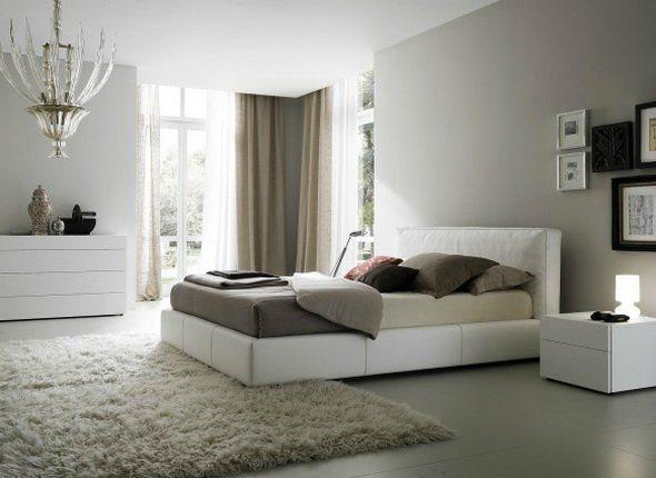Оригинальныйинтерьер спальни со светлой мебелью:стиль, спокойствие и комфорт в каждой линии
