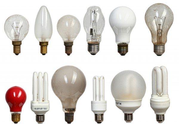 От выбора лампы зависит мощность светильника