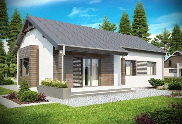 Подобные дома обычно имеют большую площадь при малой высоте