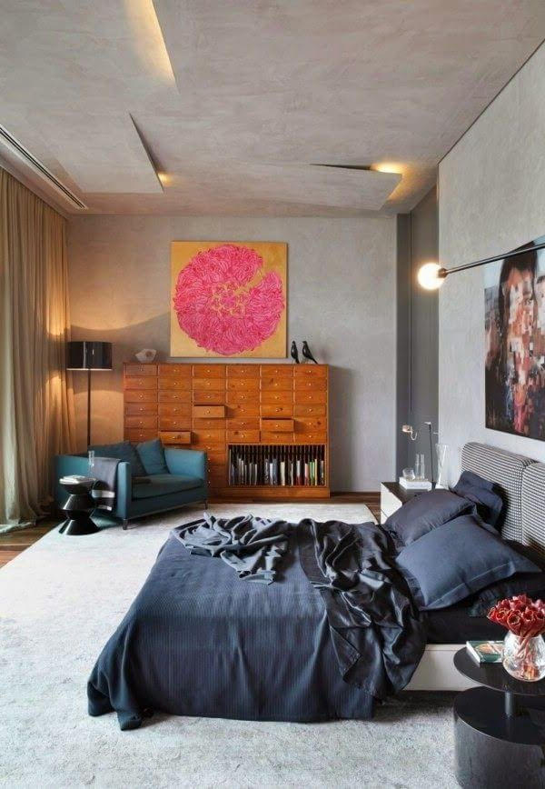 подвесной потолок с декоративной подсветкой