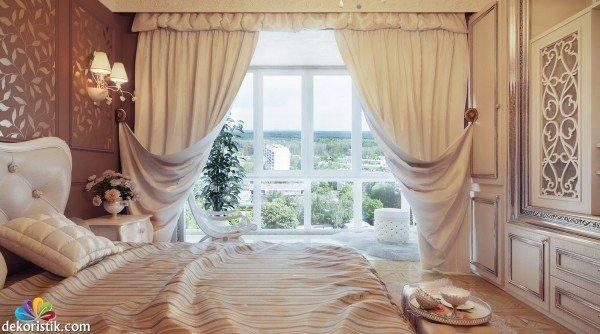 Пошьем шторы из понравившейся ткани.