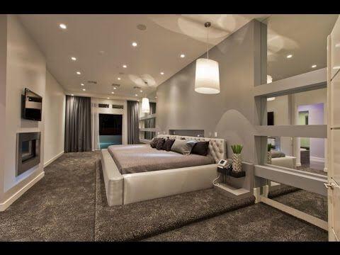 светящийся потолок из гкл в спальне