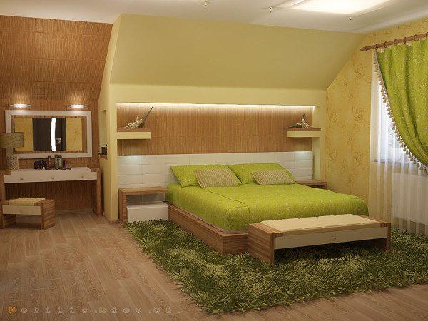 Практики распределяют в комнате цвета по сторонам света.