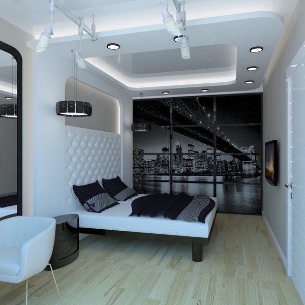 Правильно организованное освещение заставит спальню «заиграть».