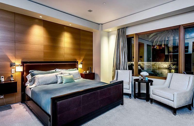 обдуманный выбор светодизайна в спальне