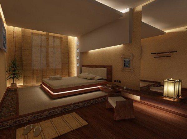 Правильный выбор освещения и энергетика Японии гарантирована.