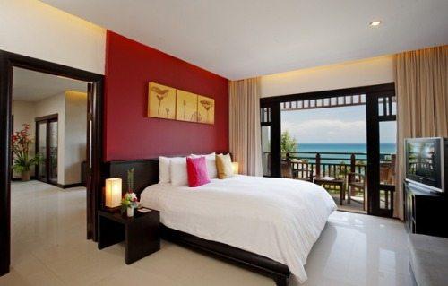 Прекрасный вид из окна и большой телевизор – что ещё надо, чтобы превратить спальню в гостиничный номер («F»)