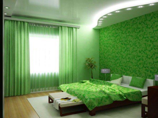 Прежде чем выбрать насыщенный цвет для отделки вашей спальни, подумайте, будет ли так комфортно, как хотелось бы.