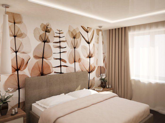 При обустройстве небольшой спальни очень важно рационально использовать каждый сантиметр площади.