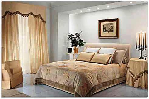 Пример готовой спальни