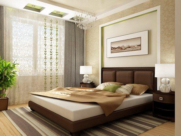 Пример использования красивых традиционных, но легких штор