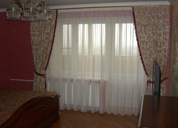 Пример использования по ширине всего окна и балконной двери