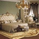 Пример ковра для спальни